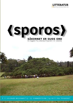 Sporos-2012-1-forside