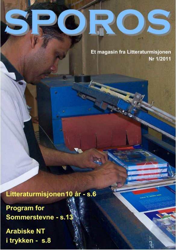 Sporos 2011 nr 1-forside